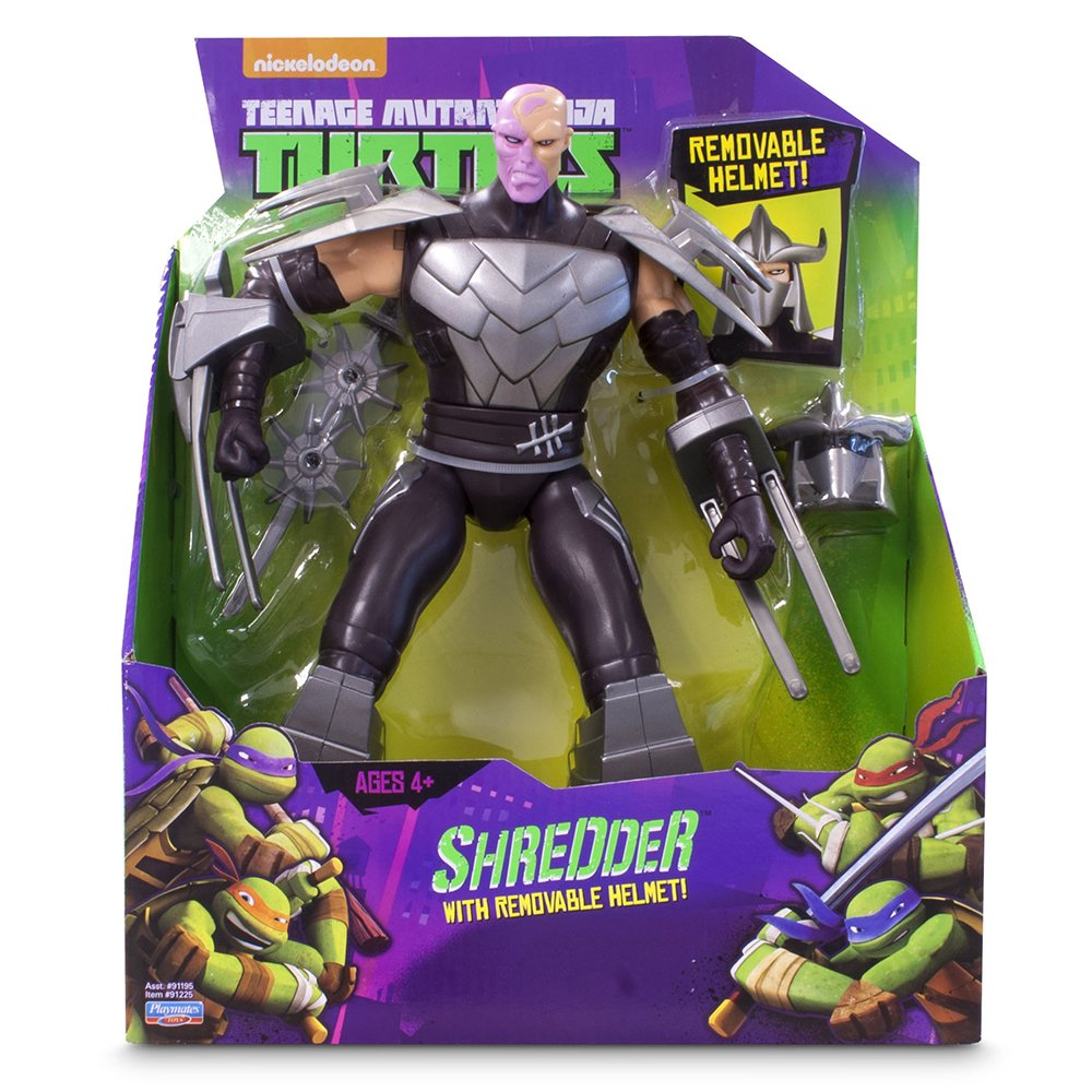 Tortugas Ninja - Figura Shredder, 28 cm (Giochi Preziosi ...