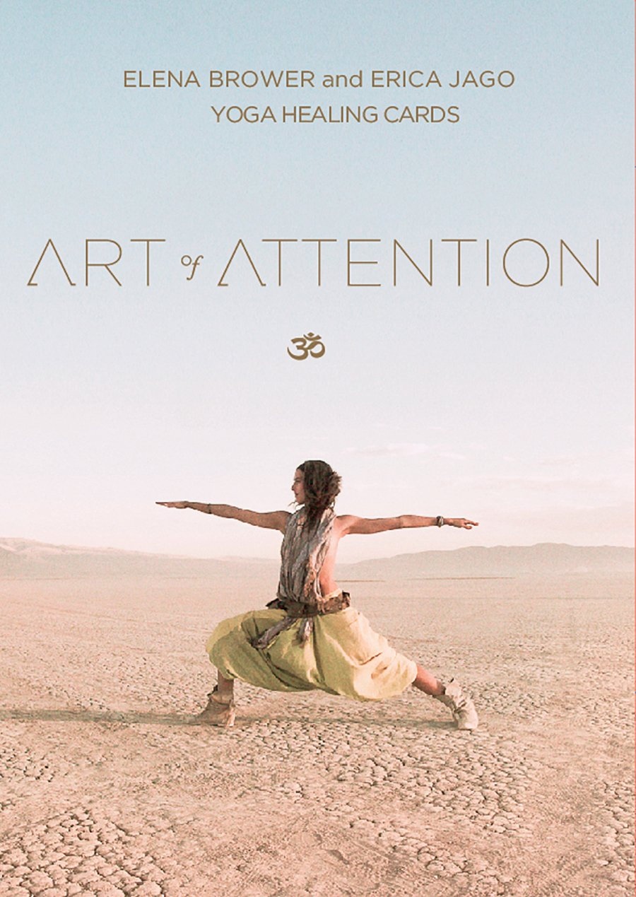 Art Attention Yoga Healing Cards product image