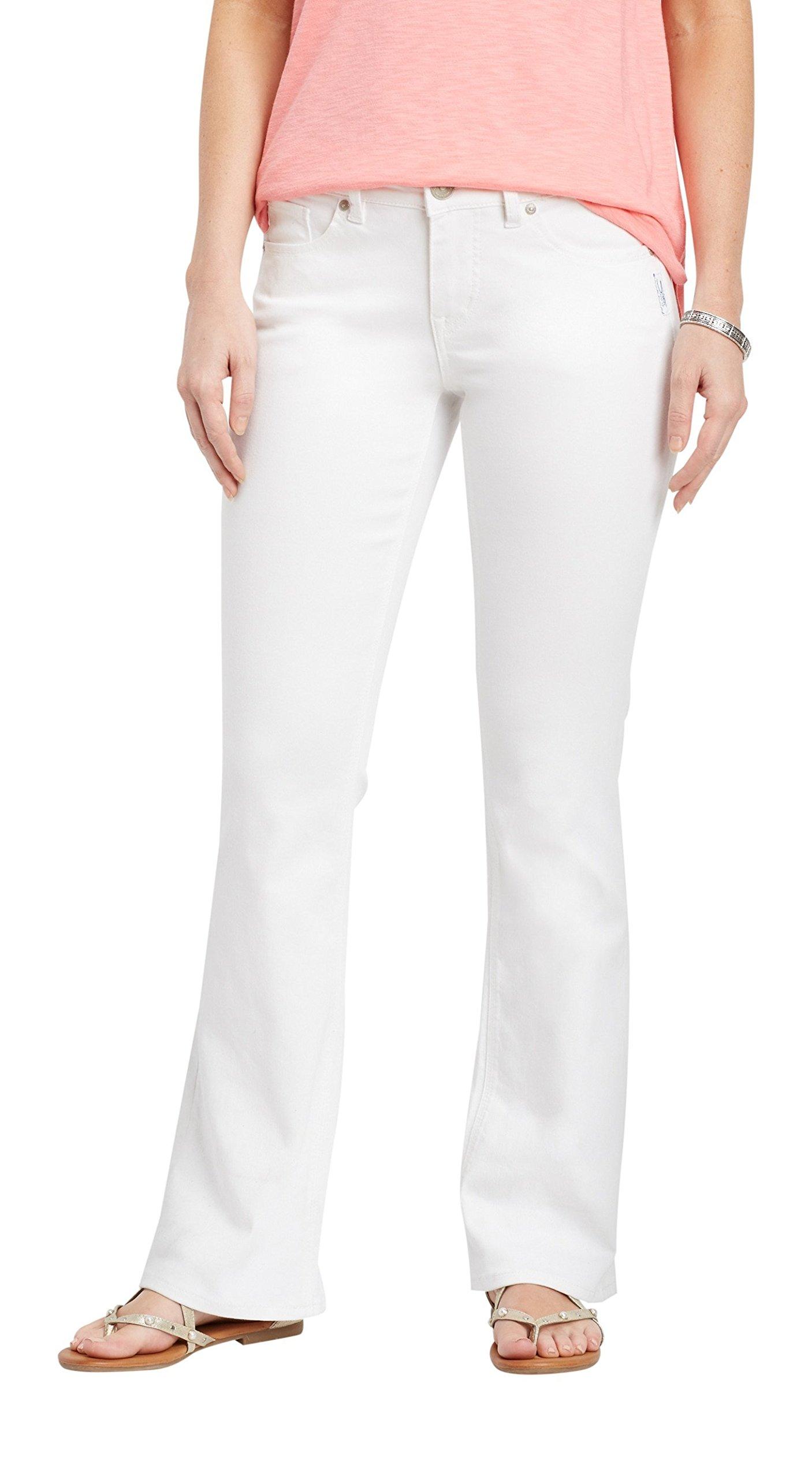 Silver Jeans Co. Women's Suki White Boot Cut Jean 33W White