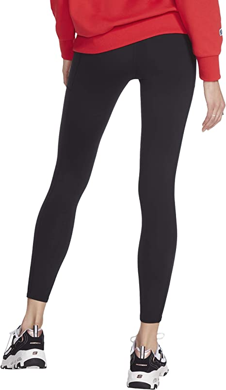 Skechers Womens Go Walk GoFlex High Waisted 2-pocket Yoga legging