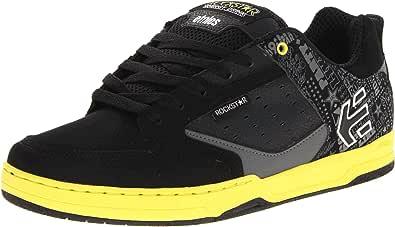 Etnies Rockstar Cartel, Zapatillas de Estar por casa para Hombre, Negro-Schwarz (Black/Yellow/Grey 986), 43 EU: Amazon.es: Zapatos y complementos