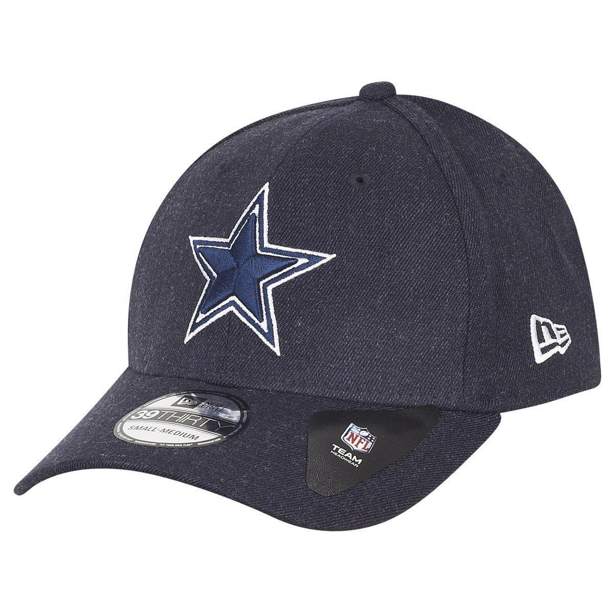 fd883e21260 New Era 39Thirty Cap - NFL Dallas Cowboys heather navy  Amazon.co.uk   Sports   Outdoors
