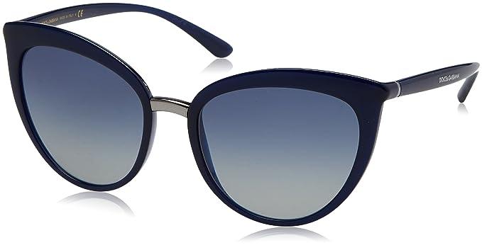 Dolce & Gabbana 0Dg6113, Gafas de Sol para Mujer, Azul (Opal ...