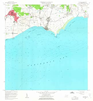 Amazon Com Puerto Rico Maps 1960 Guayama Pr Usgs Historical