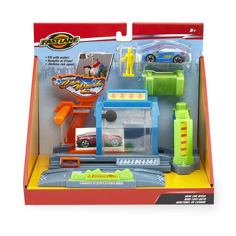 Fast Lane Mini Car Wash Playset By Toys R Us Playsets Amazon Canada