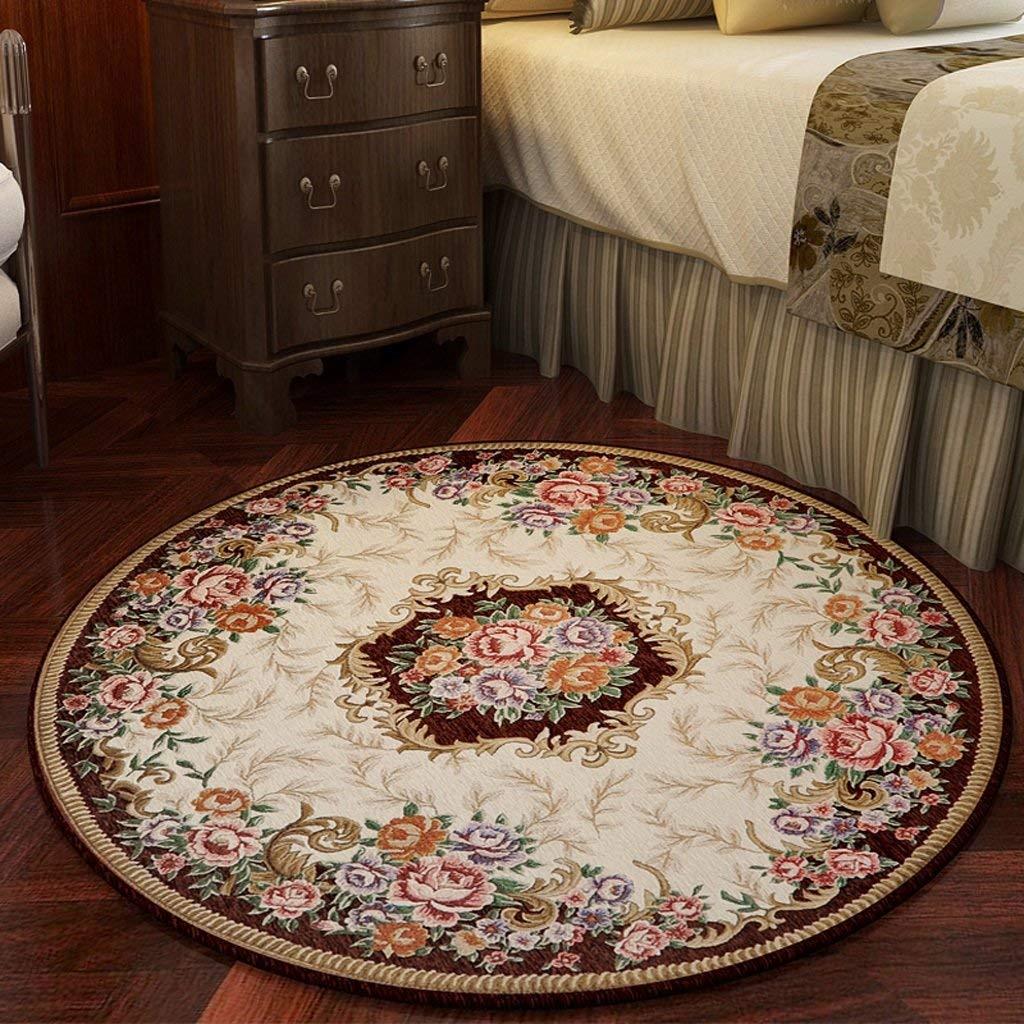 Runder Teppich, Wohnzimmer im europäischen Stil Couchtischset ...