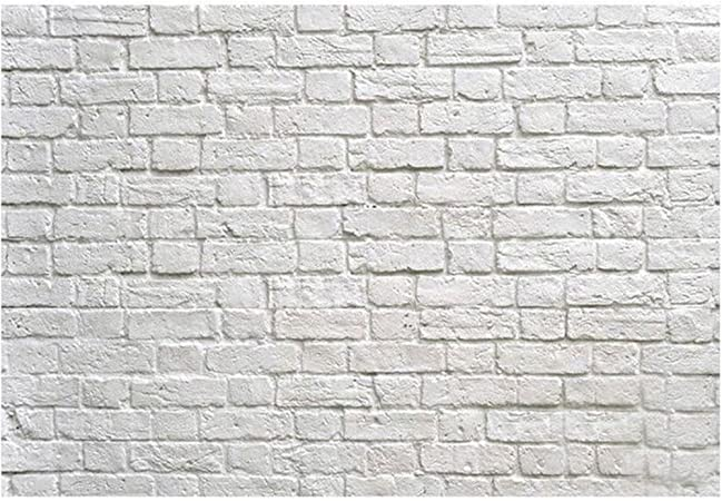 3X4FT-Product Pet White Brick Wall Photography Backdrop Decoration Prop Photo Background