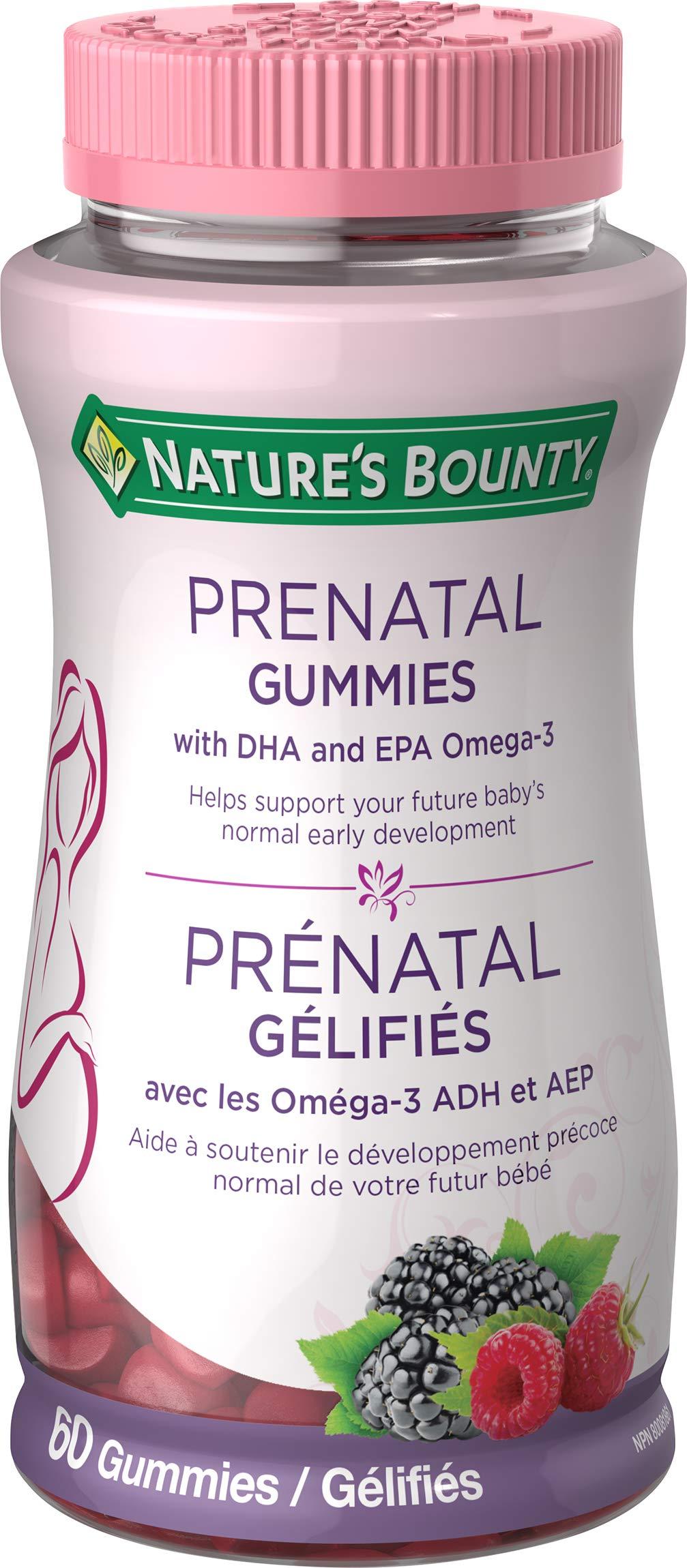 Nature's Bounty Prenatal Gummies, 60 Gummies