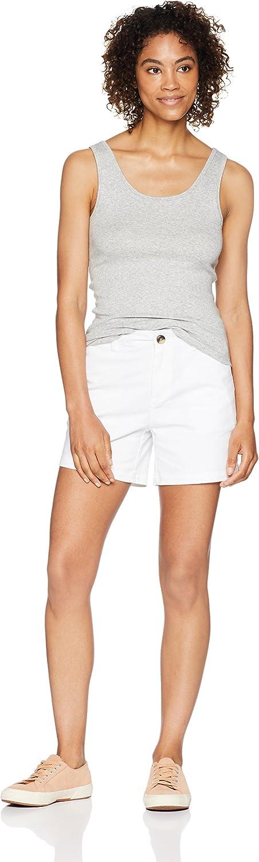 Essentials Womens 5 Inseam Chino Short