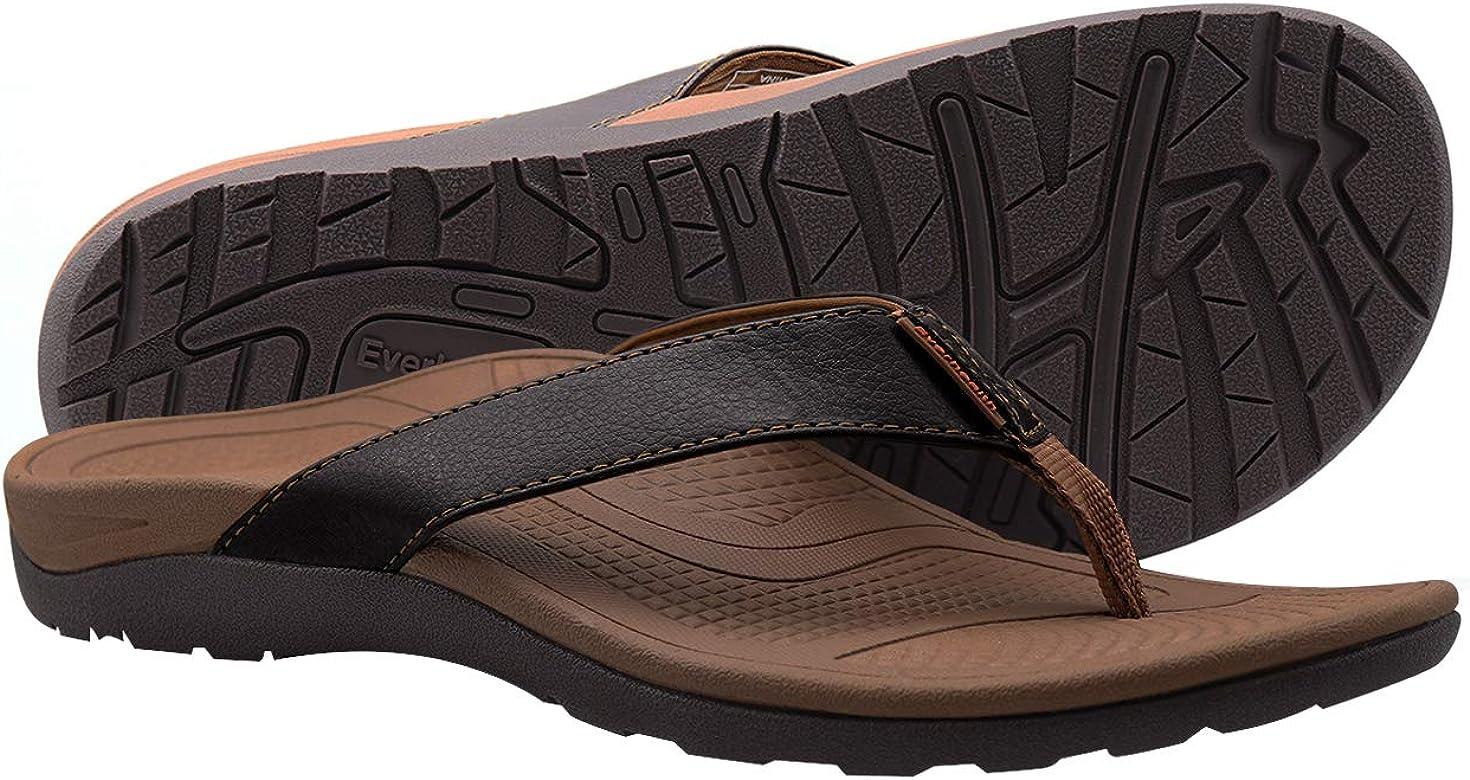 Orthotic Flip Flops Men's Sandals