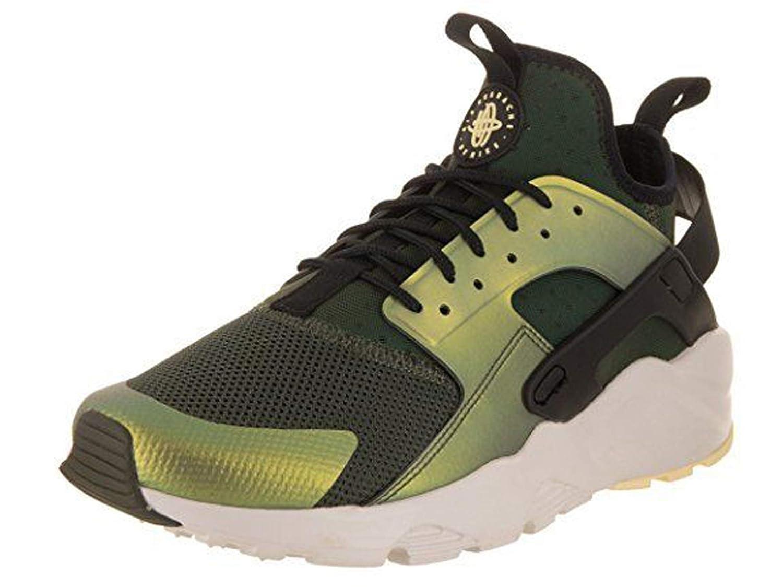 online store 2d926 0312e Amazon.com   Nike Mens Air Huarache Run Ultra SE, Sequoia Black-Light Bone,  875841-302 (12)   Road Running