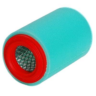 HIFROM Air Filter Cleaner Replacement for Yamaha Big Bear 250 YFM250B 400 YFM400 YFM400FB YFM400F YFM400FB Bear Tracker 250 YFM250X YFM250B YFM250XH 1P0-E4450-00-00 4XE-E4450-00-00 (Pack of 1): Home & Kitchen