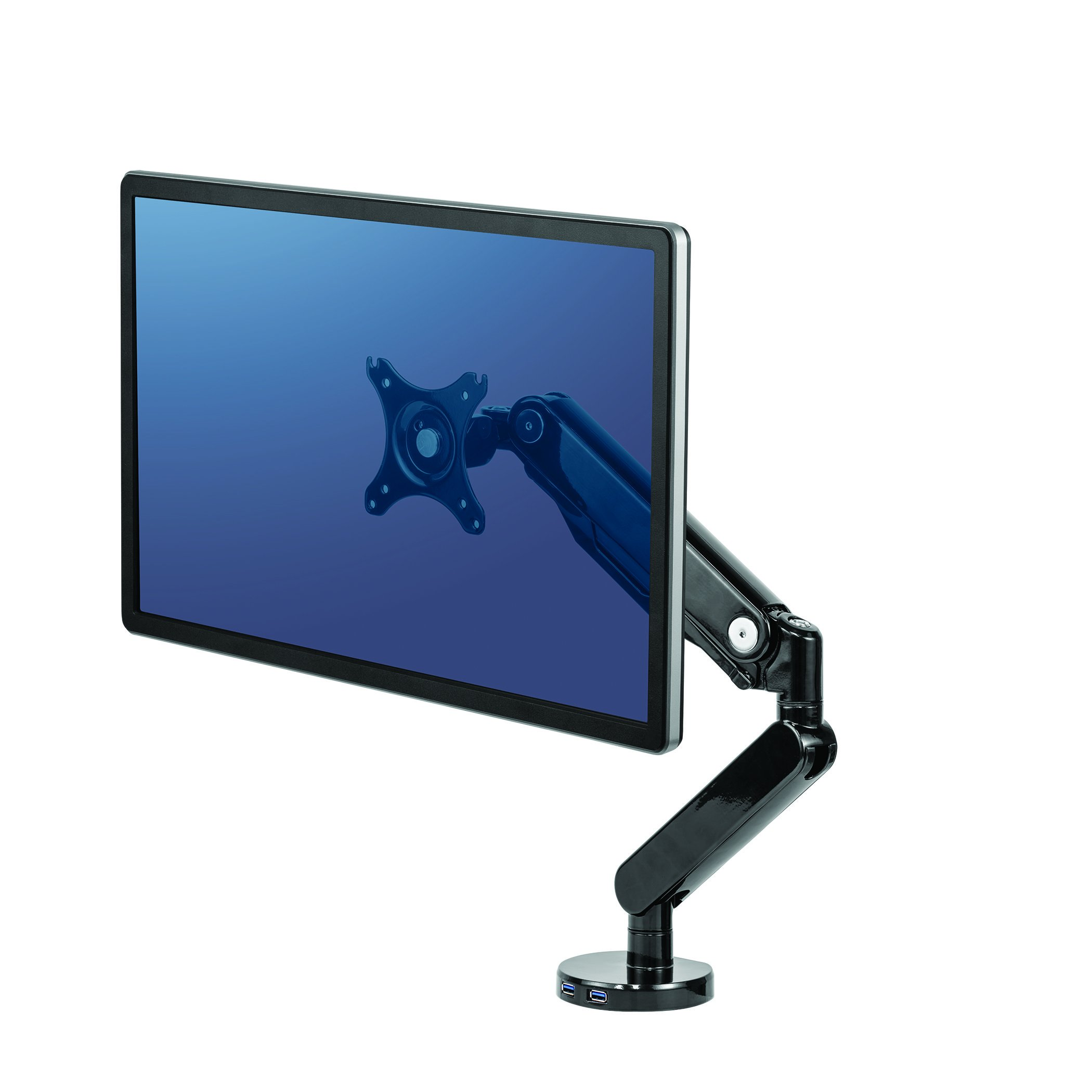 Fellowes Platinum Series Single Adjustable Monitor Arm (8043301)
