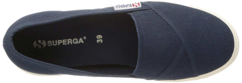 Superga Women's 2210 Cotu Fashion Sneaker B008ZSWSKO 38 EU/7.5 M US|Navy