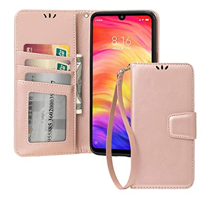Amazon.com: Redmi Note 7 - Funda de piel para Xiaomi Redmi ...