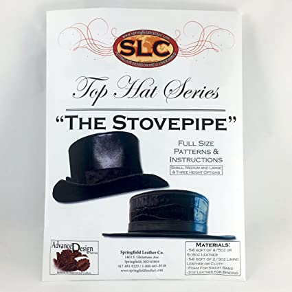 384b7023f4a Amazon.com  Leather Top Hat Pattern Instructions