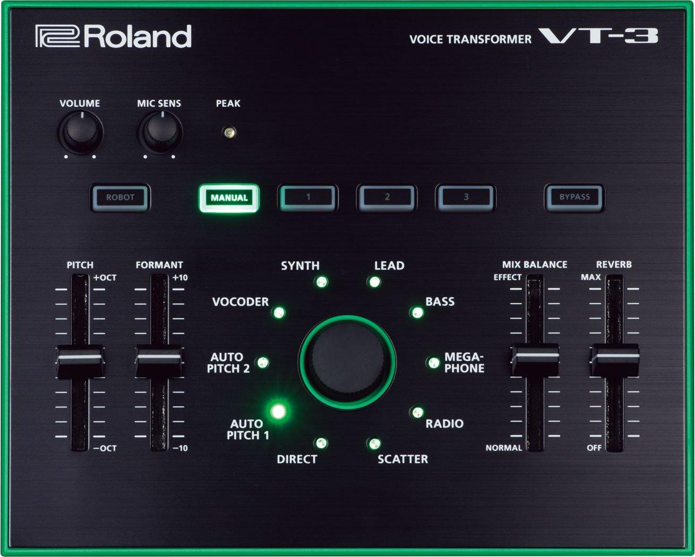 Roland VT-3 Voice Transformer w/Bonus Dunlop PVP101 Pick-Pack (x12) 761294504802