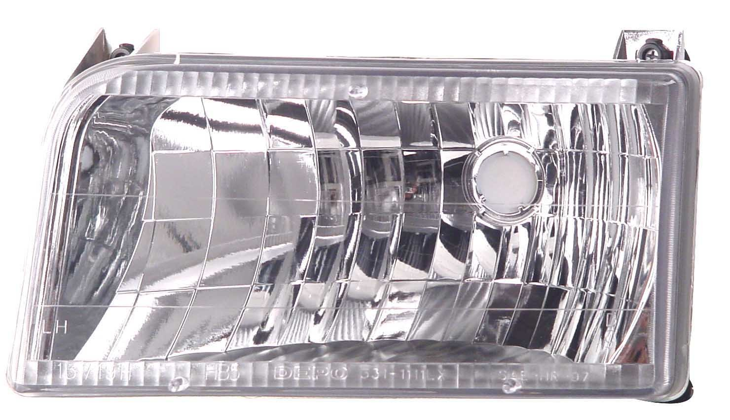 IPCW CWS-530 Crystal Diamond Cut Headlight Pair