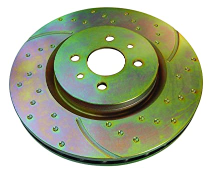 Ebc Sport Rotors >> Amazon Com Ebc Brakes Gd7223 3gd Series Dimpled And Slotted Sport