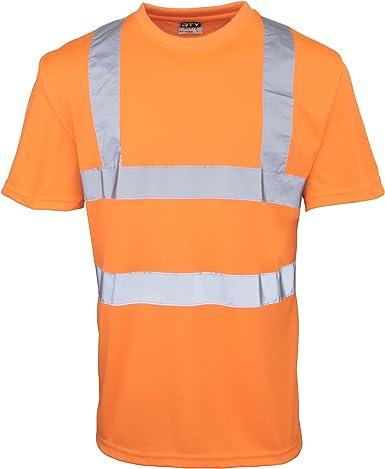 RTY - Camisa - Hombre-Mujer Naranja Naranja Fluorescente XXXXXL: Amazon.es: Ropa y accesorios