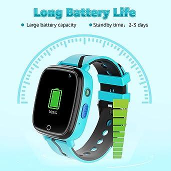 Amazon.com: Lsflair - Reloj inteligente para niños con ...