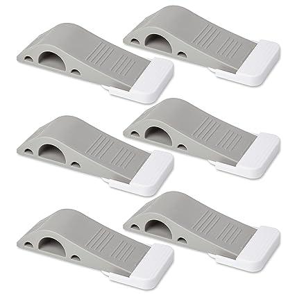 Door Stopper 6 Pack Set [BONUS HOLDERS U0026 EBOOK]   SofiHome Premium Heavy  Duty