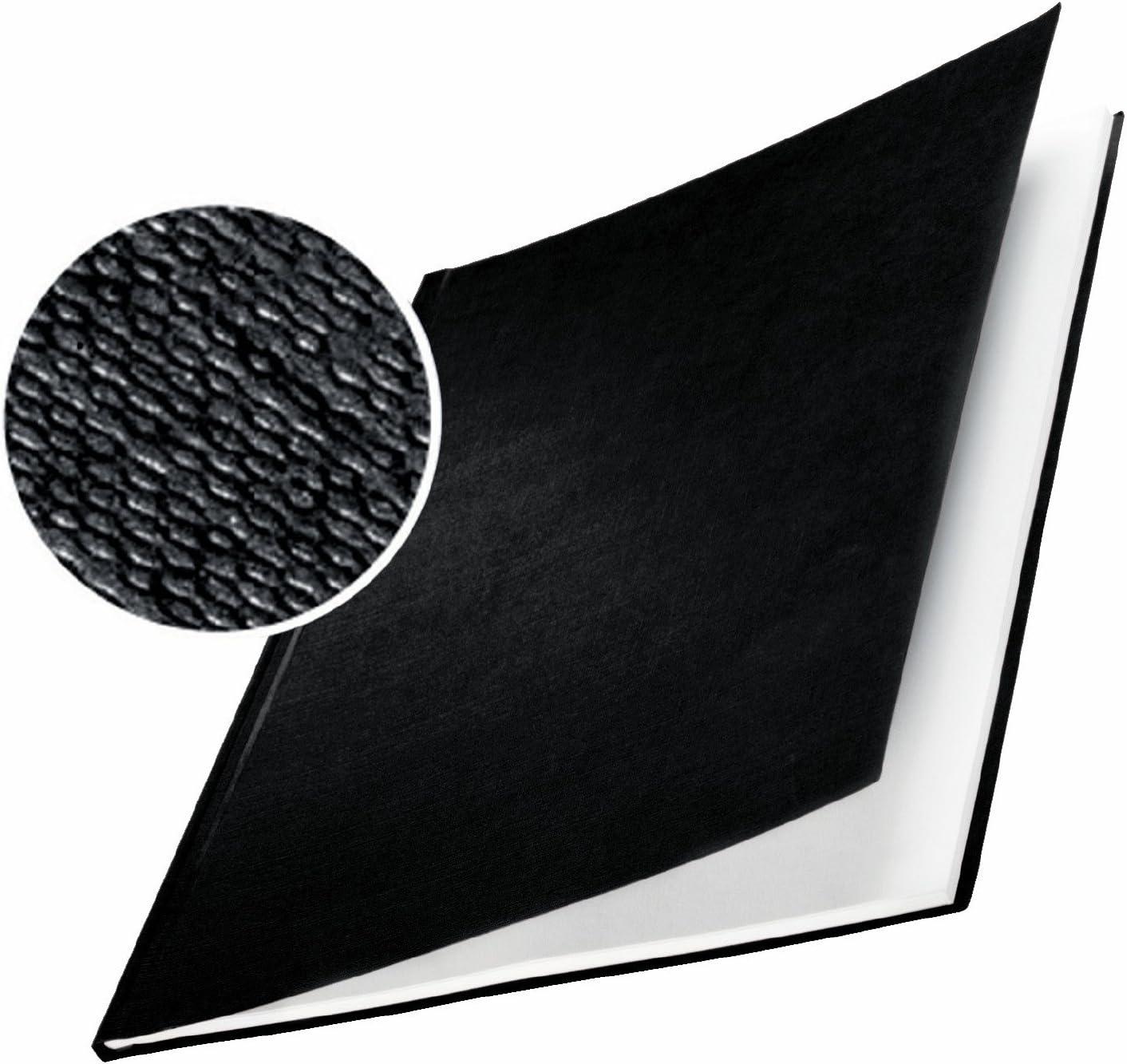 Leitz Tapa r/ígida impressBIND 73900095 Lomo de 3.5 mm Negro