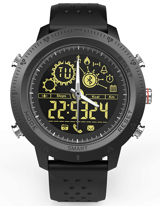Amazon.com: Mens Sports Smart Watch Digital Pedometer ...