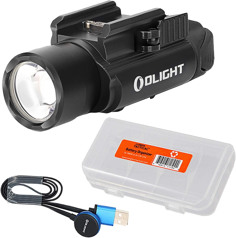 OLIGHT Rechargeable PL-PRO Valkyrie 1500 Lumens Rail Mount Tactical EDC Light