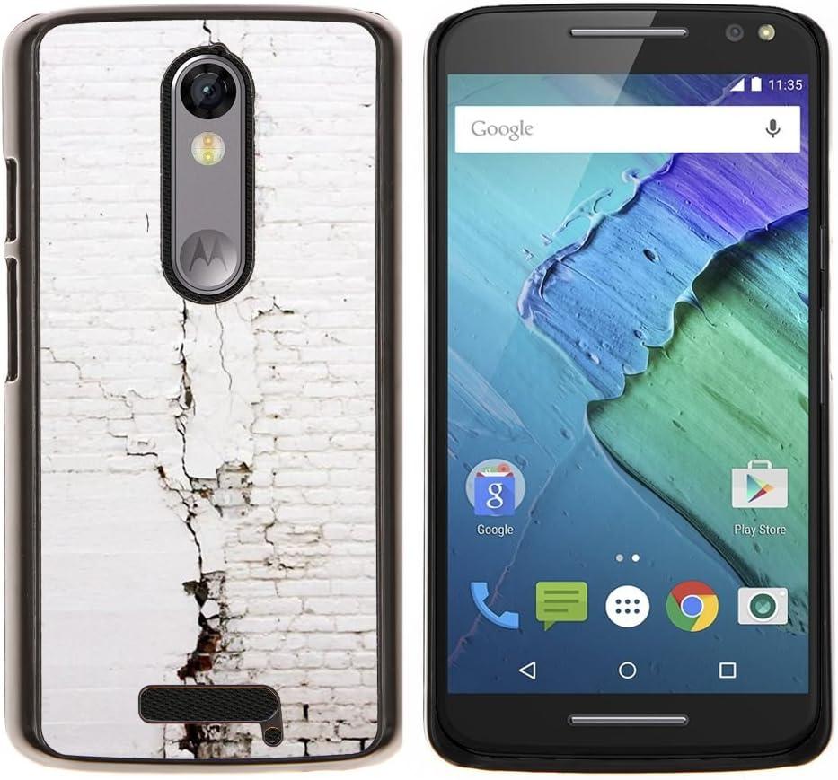 Centro SKCASE/carcasa - muro bolsa blanco - Motorola Moto X ...