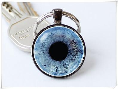 Amazon cutetrex jewelry blue eye keychain human eye keychain cutetrex jewelry blue eye keychain human eye keychain eyeball pendant aloadofball Images
