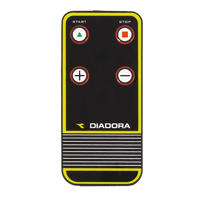 Greenfit Diadora Edge 1.6 Dark, Cinta de Correr, Negra: Amazon.es ...