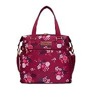 Sarah Wells Lizzy Breast Pump Bag (Berry Bloom)