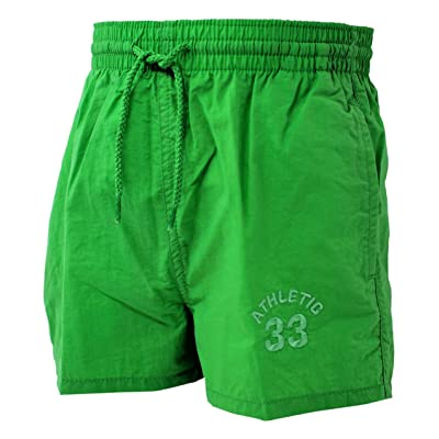 Original Adams Green Boy's Swim Shorts Beach Swimming Trunks 4-10 Years