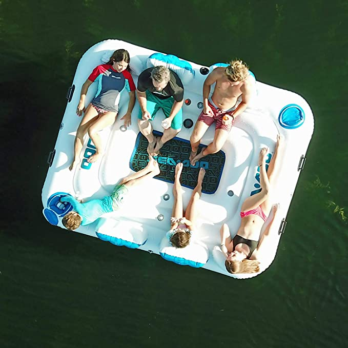 Amazon.com: Sea-Doo - Isla hinchable para seis personas con ...