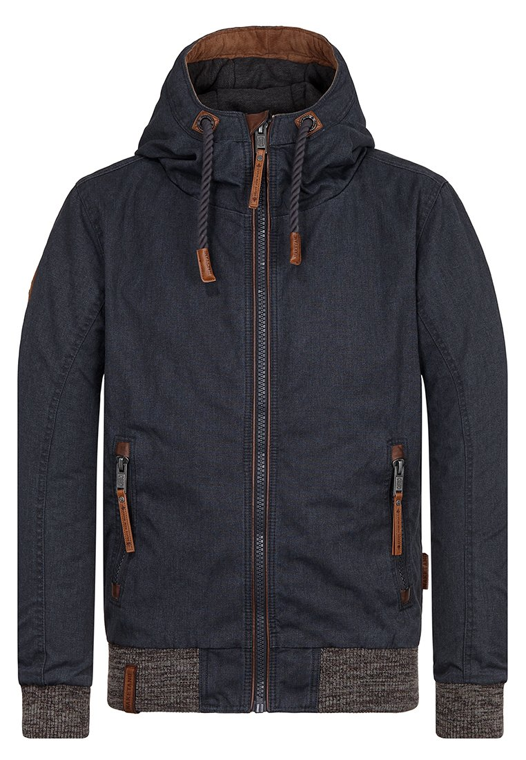 Naketano Men's Jacket Ohne Fleiß kein Penis Dark Blue, M