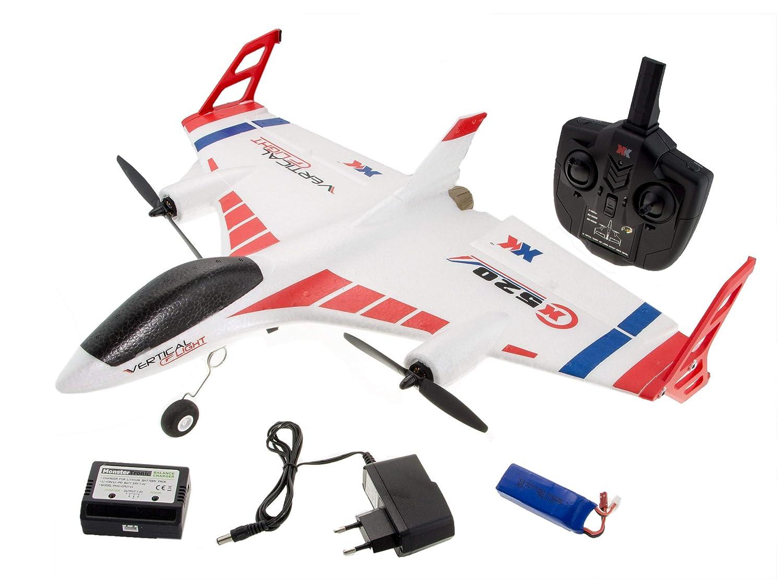 XK Sky X520 Senkrechtstarter 2.4G 6CH EPP 520mm SpannWeiße 3D   6G RC Flugzeug RTF - EU-Stecker
