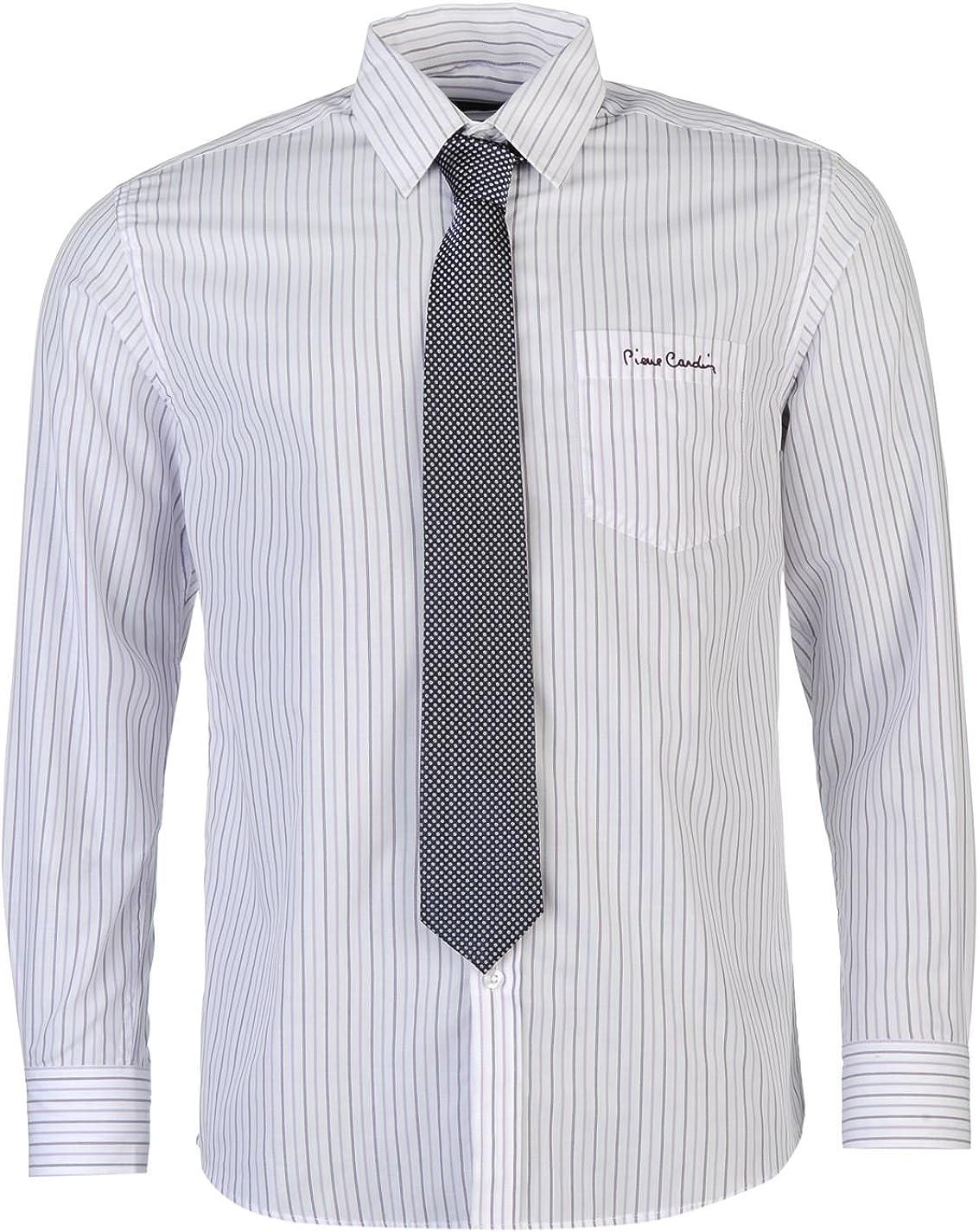 Pierre Cardin Hombre Camisa Ropa Mangas Largas Casual Vestir ...