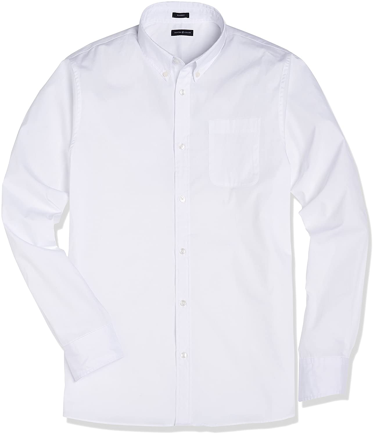 Amazon Crafted Collar Mens Classic Fit Button Down Collar