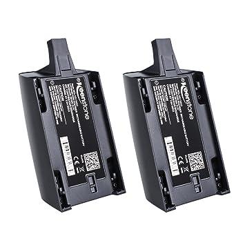 Keenstone 2 PCS bateria de Parrot Bebop 1, 1700mAh 11.1V Alto ...