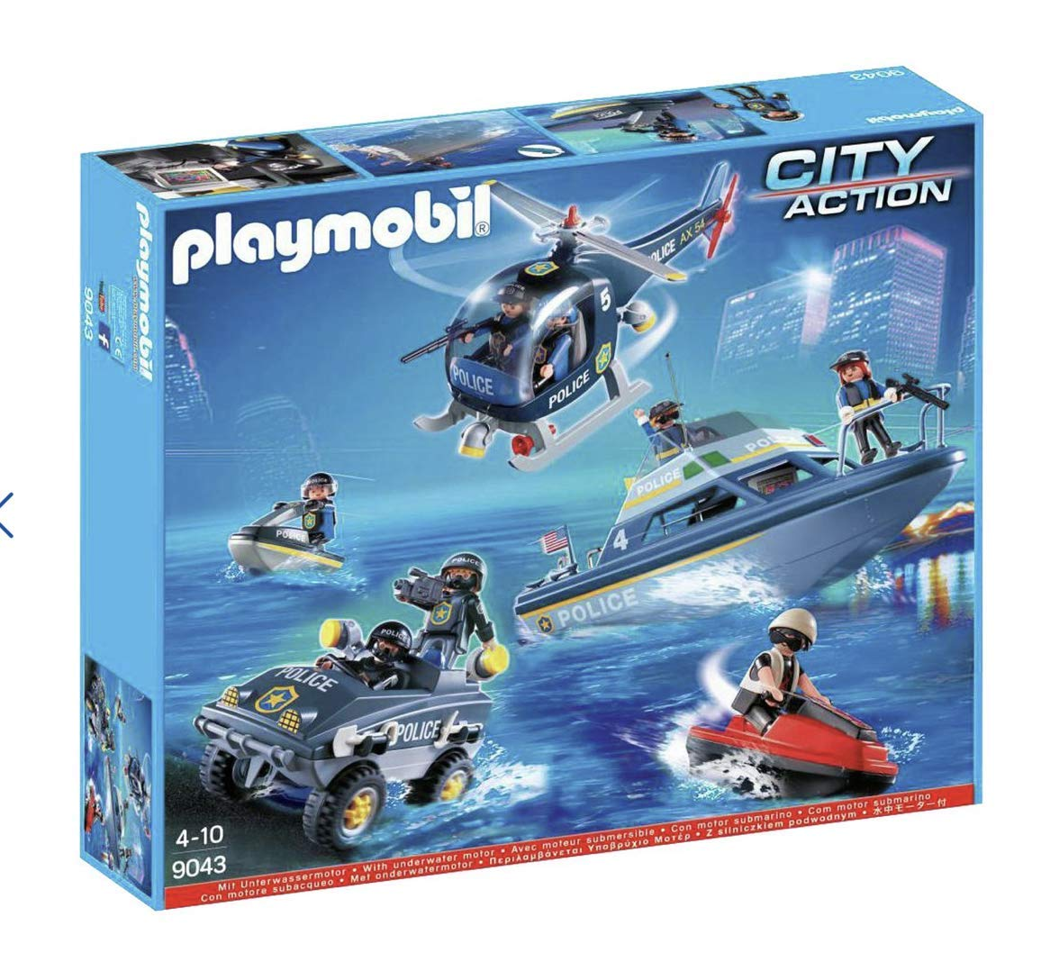 Play Mobile 9043 Police Set Amazon Co Uk Toys Games