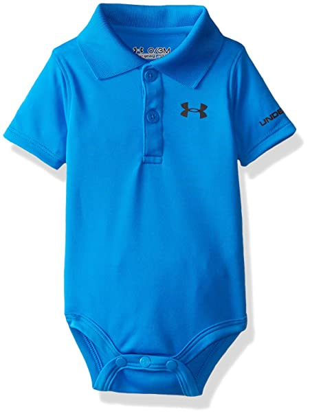 Under Armour Baby-Boys Newborn Polo Bodysuit 54524f7b8