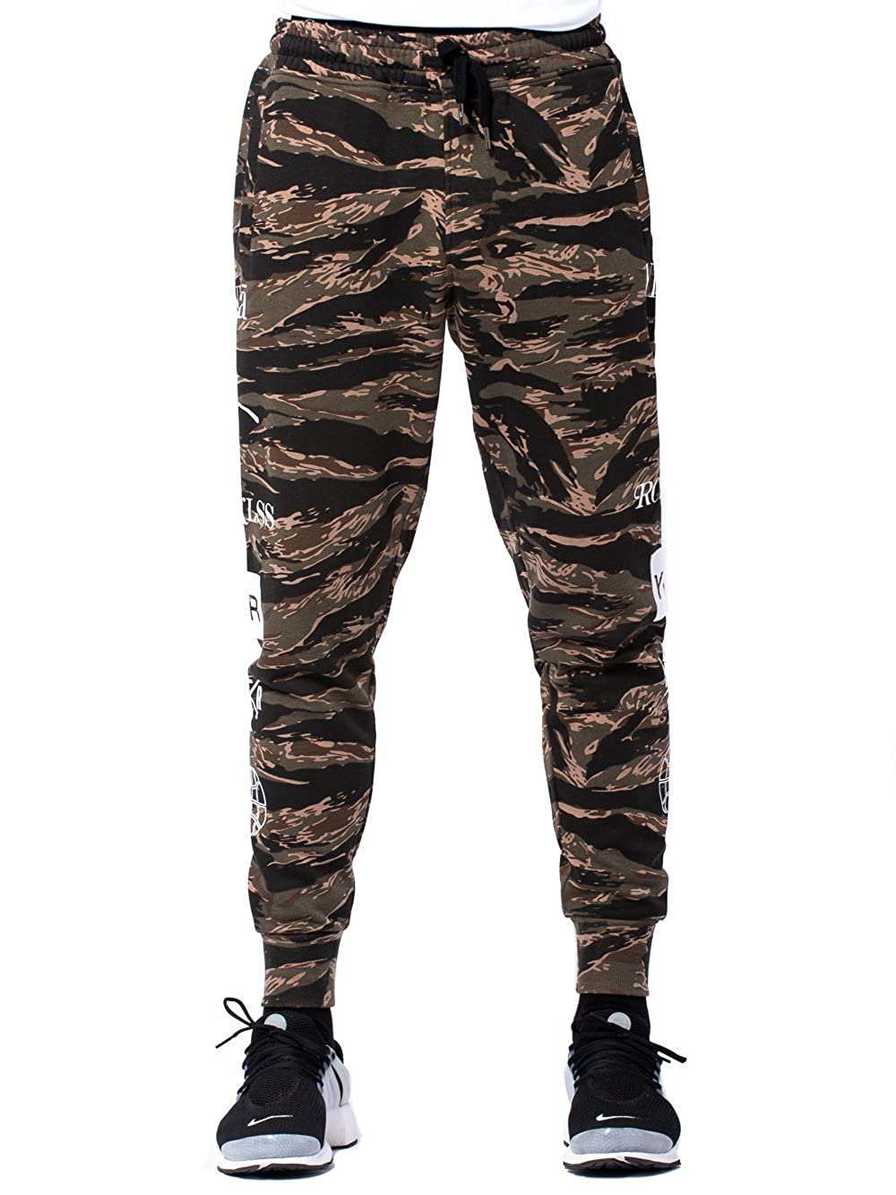 Young and Reckless - Micah Sweatpants- Tiger Camo - - Mens - Bottoms - Sweatpants - young & reckless 11760331855