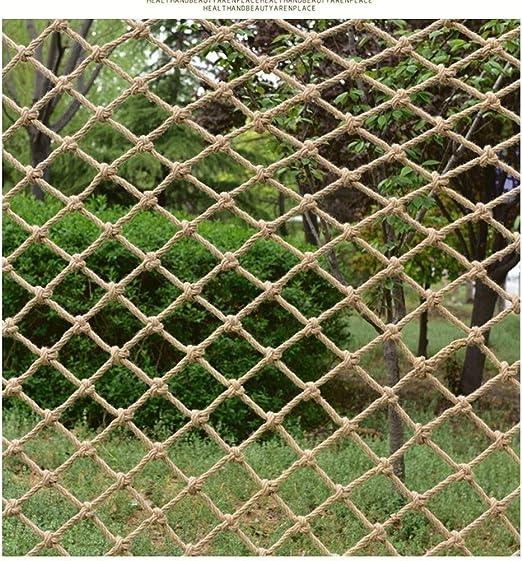 Red de soga de jardín red de seguridad red de carg Cuerda del ...