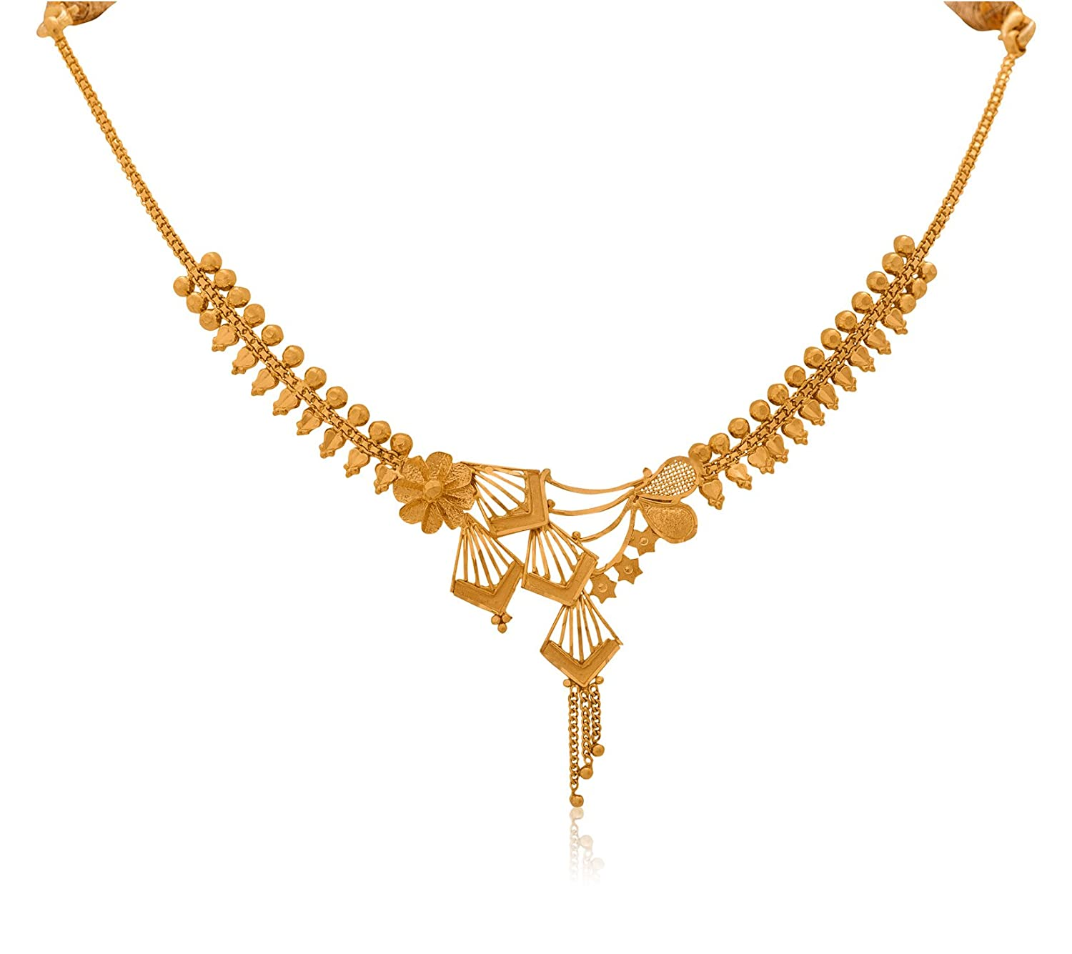 the necklace jewellery gold l leaf weight oriana light magnolia images