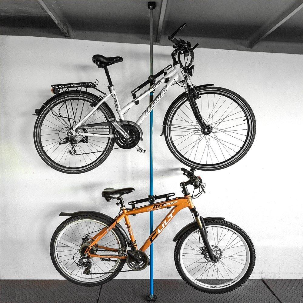 Fahrradständer Wohnung wenko fahrradständer duo amazon de sport freizeit