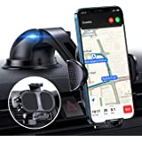 【Strong Suction】Phone Car Holder【4 in 1】Car Phone Holder Mount for Ford fit for Dashboard/Windshield Universal iPhone…
