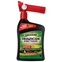 Amazon.com deals on Spectracide Triazicide Insect Killer For Lawns 32oz