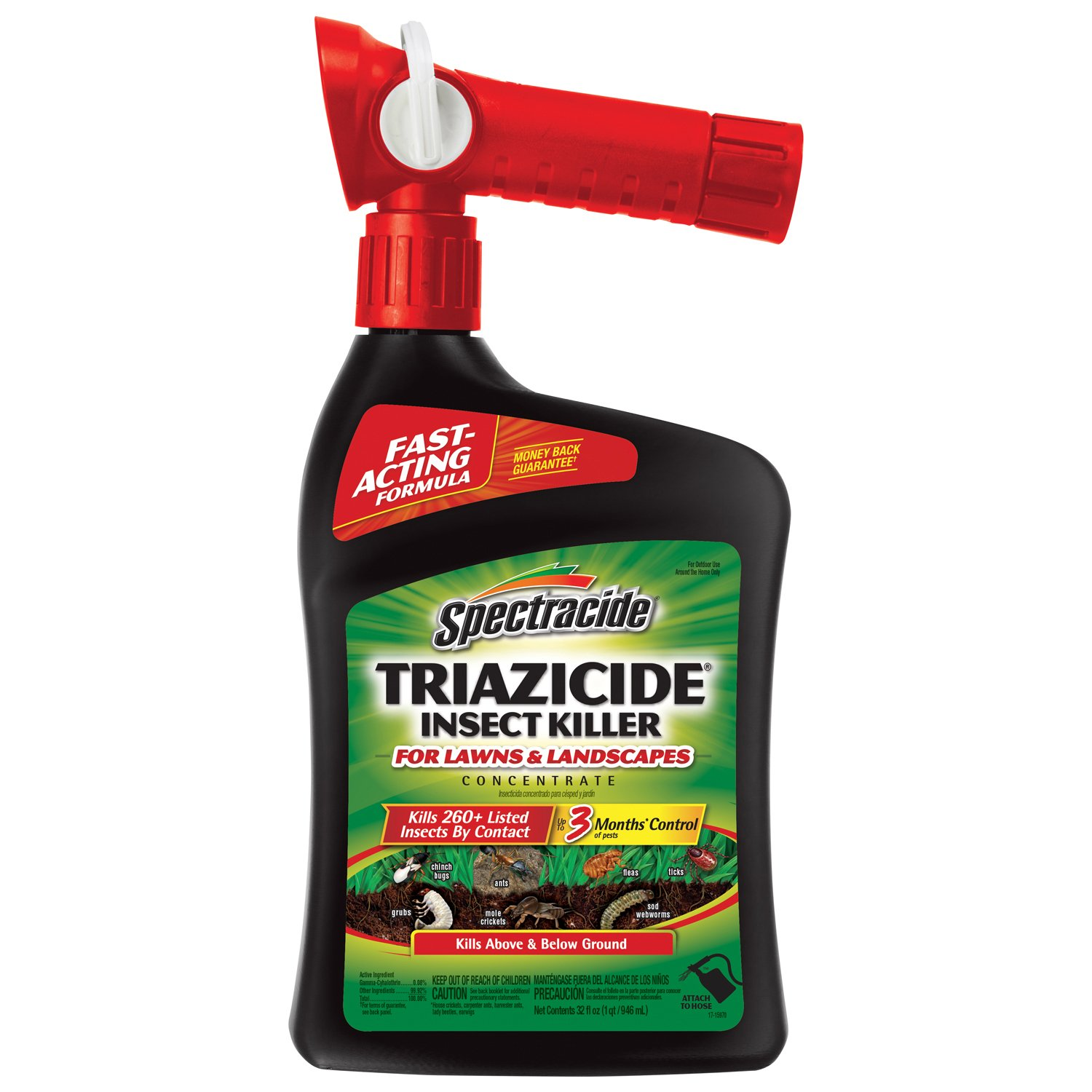 Spectracide Triazicide Insect Killer for Lawns & Landscapes Concentrate (Ready-to-Spray) Review