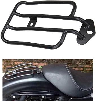 Ambiente Schwarz Motorrad Gepäckträger Solo Sitz Gepäckträger Vergoldet Gepäckregal Für Harley Sportster Xl 883 1200 77 0073 77 0073 B Auto